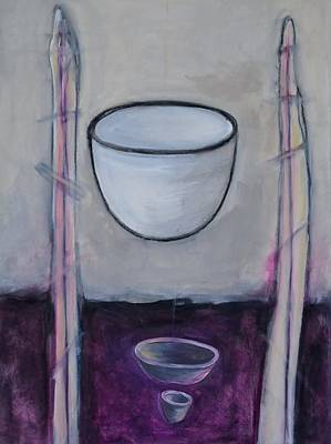 Painting - Levitating Still Life An Oxymoron  by Rosemary Healy