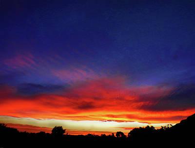 Photograph - Levitating Sunset by Mark Blauhoefer