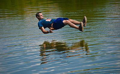 Athlete Photograph - Levitation by Dado Molina