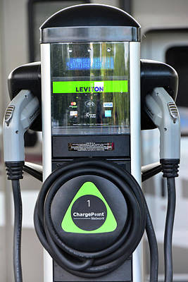 Photograph - Leviton Charge Point by Mike Martin