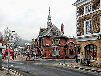 Photograph - Main Road Junction Lewes by Dorothy Berry-Lound