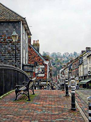 Photograph - Cliffe Bridge Lewes Side View by Dorothy Berry-Lound