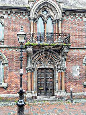 Photograph - Front Entrance Fitzroy House Lewes by Dorothy Berry-Lound