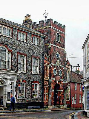 Photograph - Crown Inn Junction Lewes by Dorothy Berry-Lound