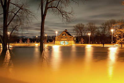 Photograph - Lewis And Clark Boathouse by Steve Stuller