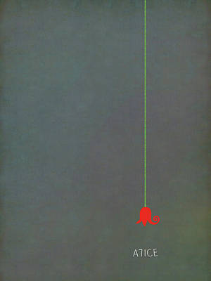 Sacha Digital Art - Lewis Carroll - Alice by Attila Meszlenyi