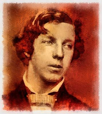 Lewis Painting - Lewis Carroll, Author by John Springfield