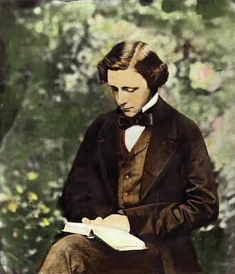 Photograph - Lewis Carroll by Granger