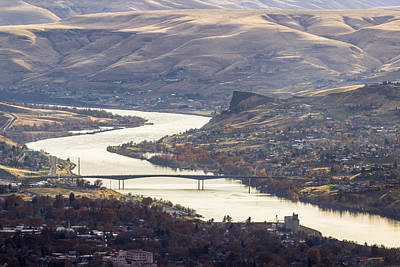 Lewiston Photograph - Lewis Clark Valley by Brad Stinson