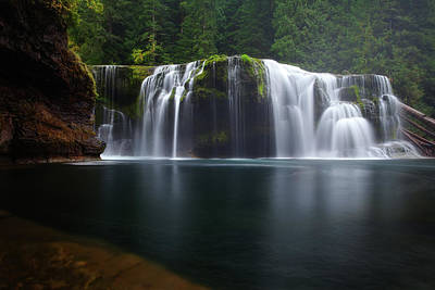Photograph - Lewis Falls by Darren White