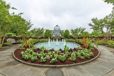 Photograph - Lewis Ginter Botanical Gardens by Alan Raasch