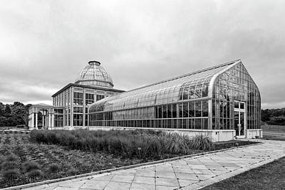 Photograph - Lewis Ginter Greenhouse by Alan Raasch