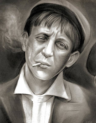 19th Century Drawing - Lewis Hine Tribute by Greg Joens