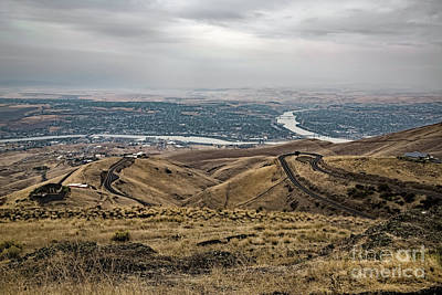 Photograph - Lewiston Hill by Jon Burch Photography