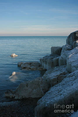 Photograph - Lexington Harbor In Ice by Kathy DesJardins
