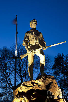 Photograph - Lexington Minuteman by Brian Jannsen