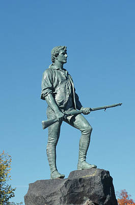 Photograph - Lexington Minuteman by John Clark