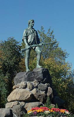 Photograph - Lexington Minuteman Statue by John Clark