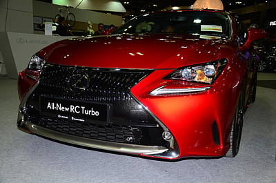 Photograph - Lexus Rc Turbo by Chua  ChinLeng