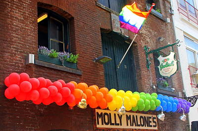 Photograph - Lgbtq Gay Pride Celebration In Amsterdam by Laurel Talabere
