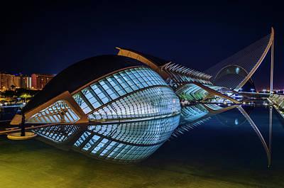 Photograph - L'hemisferic by Pablo Lopez