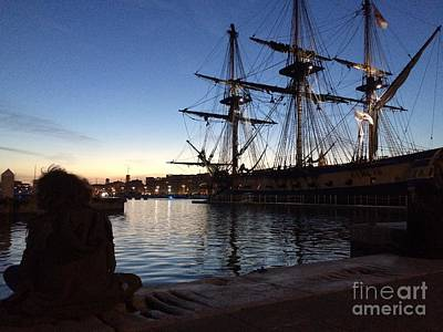 Photograph - L'hermione Ready To Save Washington Again by Donato Iannuzzi