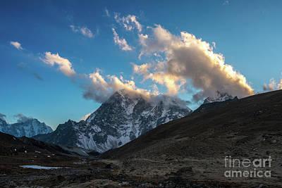 Photograph - Lhotse Cloudscape by Mike Reid