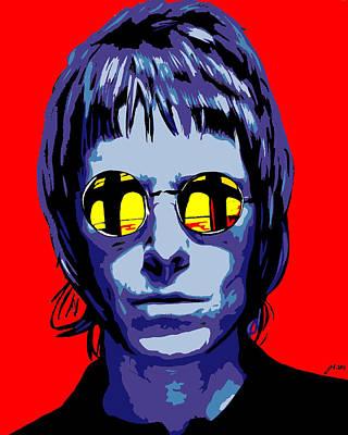 Liam Gallagher Original by Justin Robertson