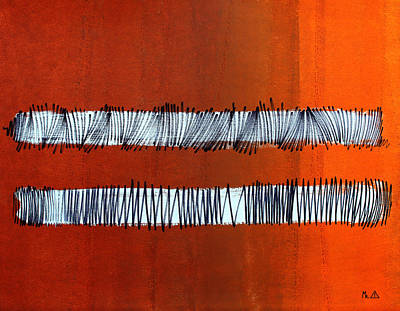 Painting - Lib-598 by Mr Caution