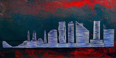 Painting - Lib - 654 by Mr Caution
