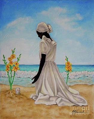 Libations II Art Print by Marcella Muhammad