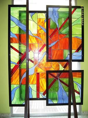 Glass Art - Liberacion by Justyna Pastuszka