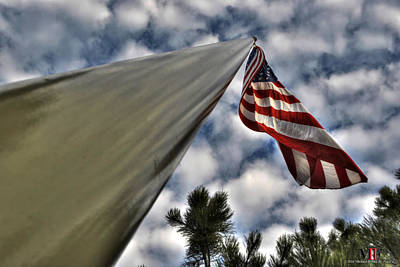 Fall Photograph - Liberty And Justice For All by Michael Frank Jr