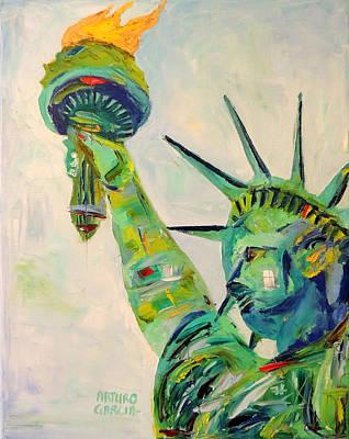 Liberty Art Print by Arturo Garcia