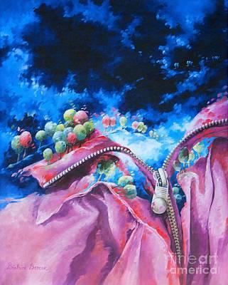 Artist Painting - Liberty by Beatrice BEDEUR