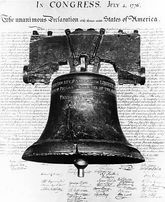 Liberty Bell And Declaration Art Print by H. Armstrong Roberts/ClassicStock