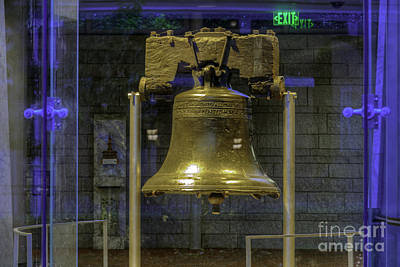 Photograph - Liberty Bell Iconic Symbol by David Zanzinger