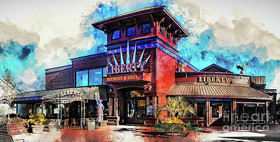 Digital Art - Liberty Brewery And Grill Myrtle Beach by David Smith