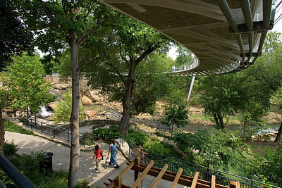 Photograph - Liberty Bridge 11 by Joseph C Hinson Photography