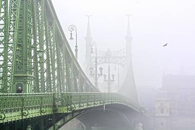 Liberty Bridge Budapest Hungary Art Print