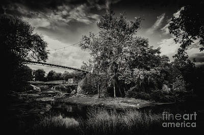 Photograph - Liberty Bridge Greenville Sc by David Waldrop