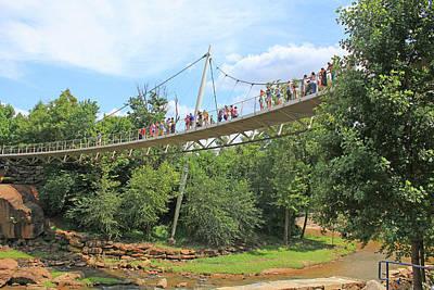 Photograph - Liberty Bridge In Greenville by Joseph C Hinson Photography