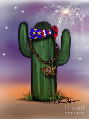Painting - Liberty Cactus by Dani Abbott