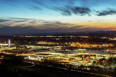 Photograph - Liberty Campus At Sunset by Tim Wilson