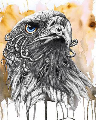 Liberty Eagle Modified Art Print