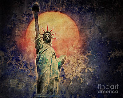 Photograph - Liberty by Edmund Nagele