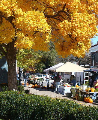 Photograph - Liberty Farmers Market by Steve Karol