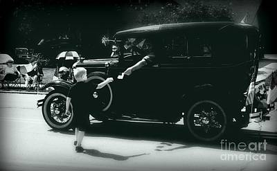 Frank J Casella Royalty-Free and Rights-Managed Images - Liberty for all  - Monochrome by Frank J Casella