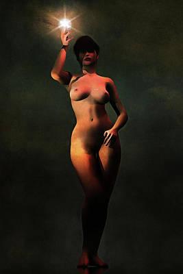 Painting - Liberty by Jan Keteleer