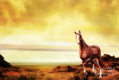 Pasture Digital Art - Liberty by John Edwards